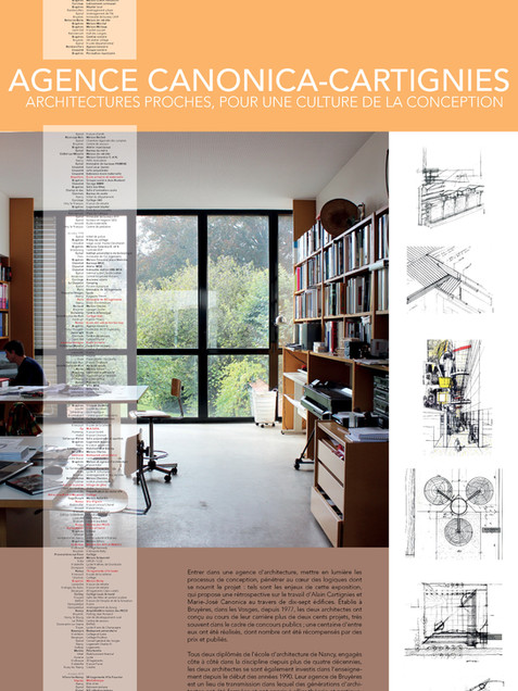 Exposition Architectures proches, pour une culture de la conception