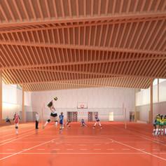 Gymnase, Chaumont