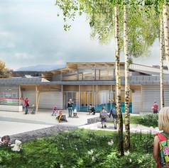 Construction d'un groupe scolaire, Etival-Clairefontaine (88)