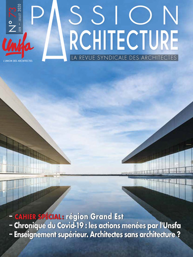 Passion Architecture n°73, 2020