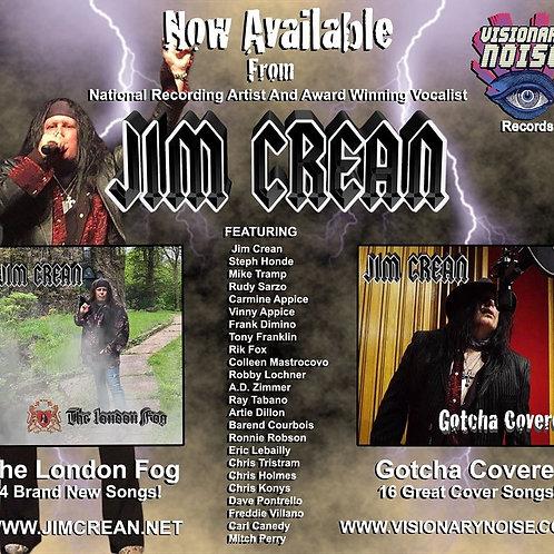JIM CREAN  London Fog and Gotcha Covered