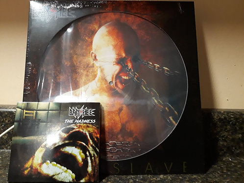 Banshee Mindslave 180 gr picture disc and The Madness CD