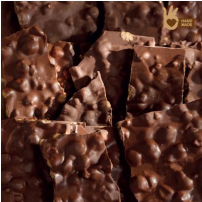 Venchi melkchocoladebrokken - 5kg