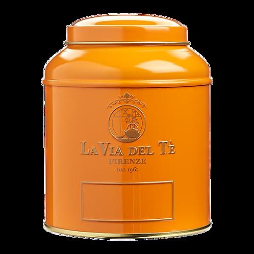 La Via del Tè, canister granaat oranje - 6stuks