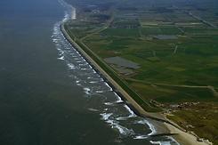 hondsbossche zeewering, petten, noord-holland