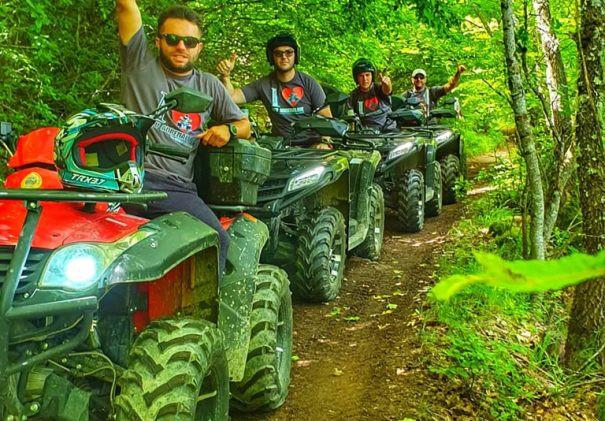 ATV Abenteuer Ohrid
