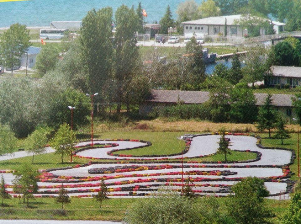 Karten Ohrid