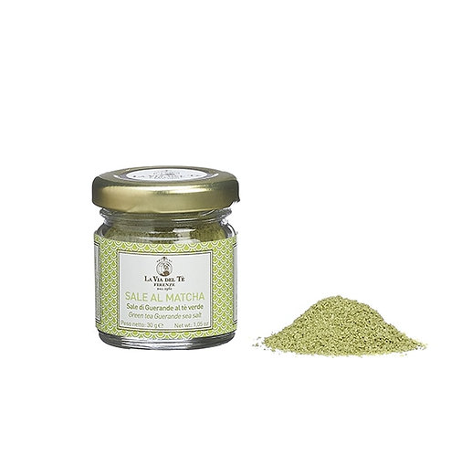 Matcha green tea guerande sea salt - 6stuks