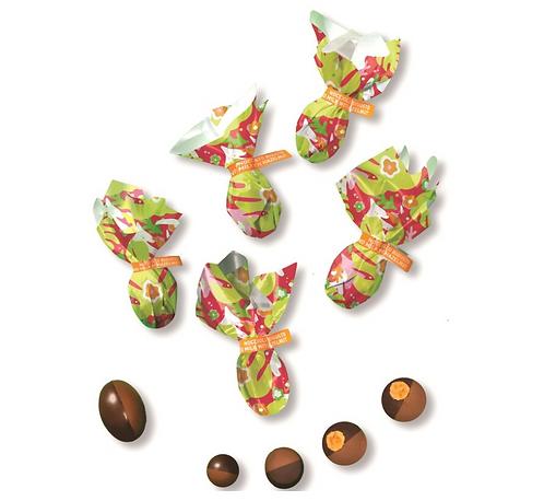 Pure en melkchocolade paaseitjes - 1kg