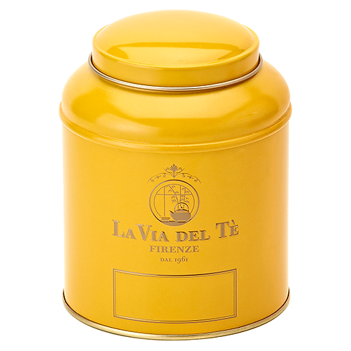 La Via del Tè, canister geel - 6stuks
