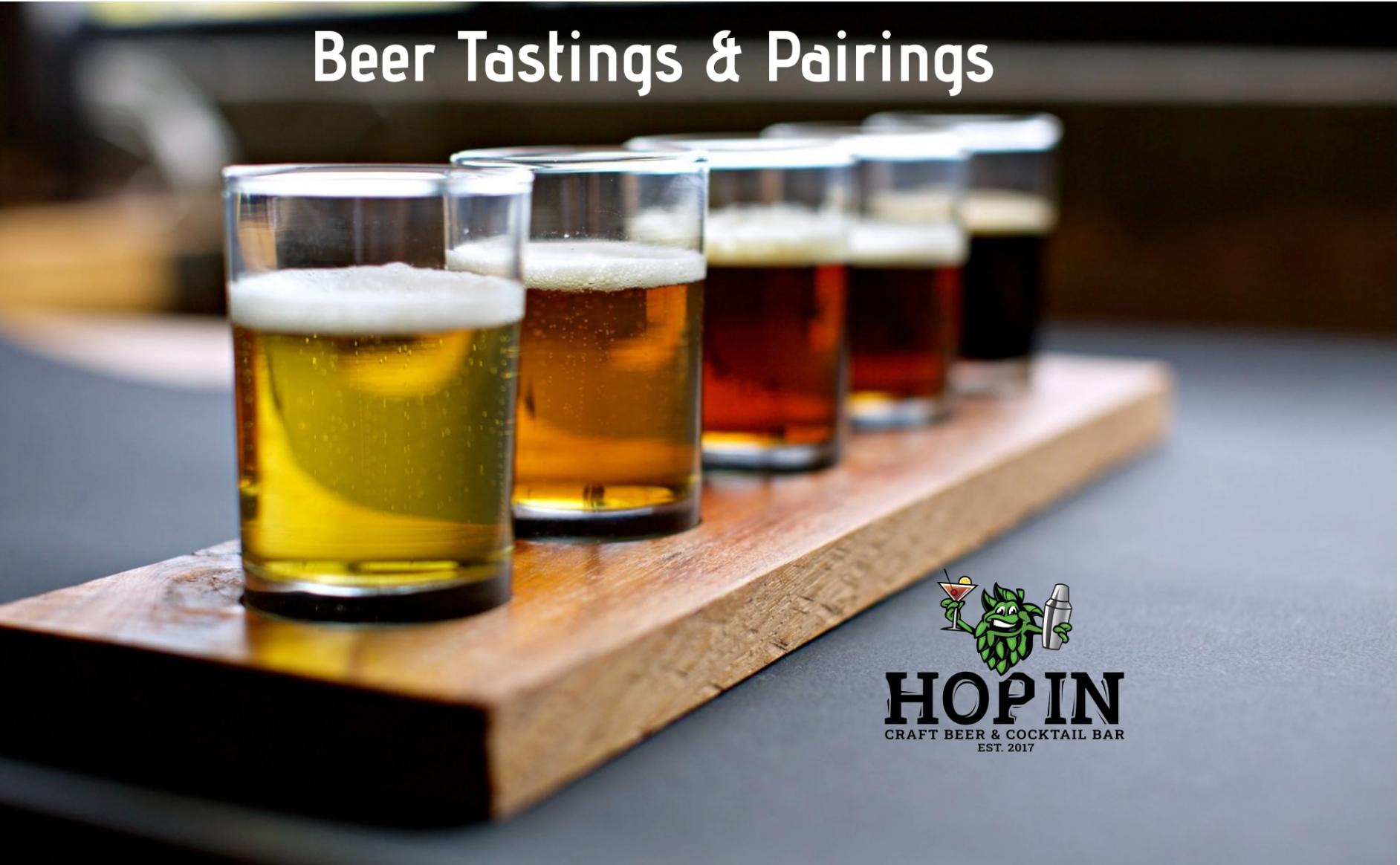 Guided Beer Tastings & Pairings