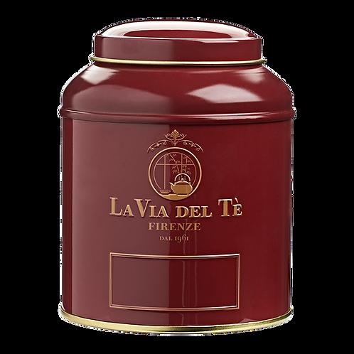 La Via del Tè, canister granaat rood - 6stuks