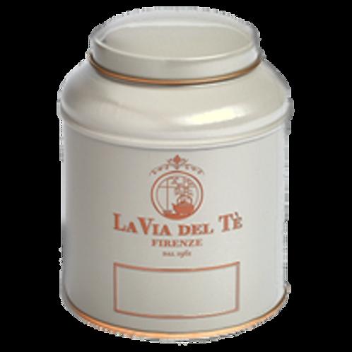 La Via del Tè, canister grijs - 6stuks