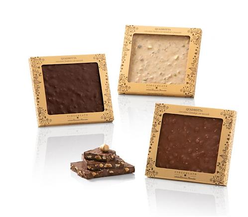 Chocoladetabletten in geschenkverpakking - 12stuks