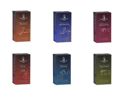 Tea Travels - 6stuks