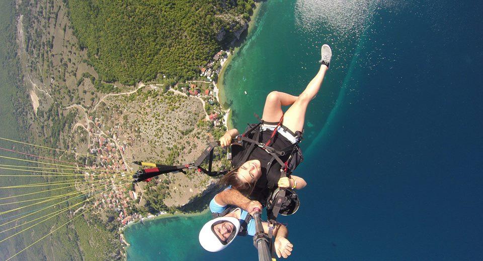 paragliding Ohrid