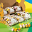 Thumbnail: Gesuikerde paaseitjes in klein transparant doosje - 12stuks