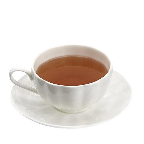 Pumpkin bone China cup and saucer (set of 2) - 1set