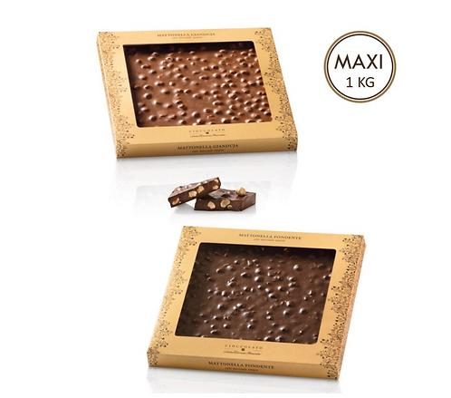 Maxi chocoladereep in geschenkverpakking - 4stuks