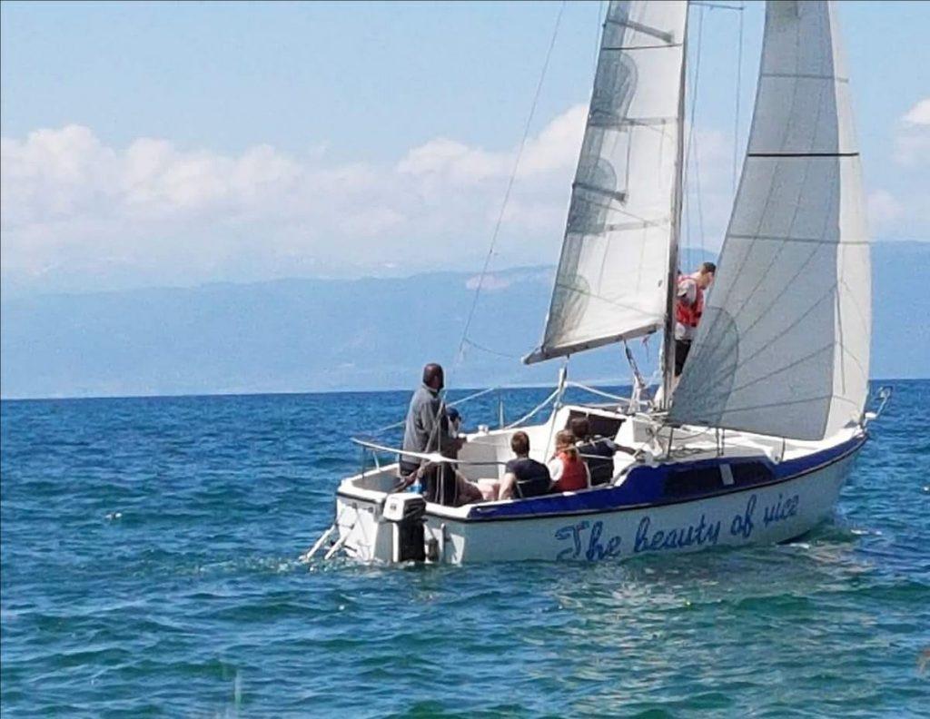 Segeln Ohrid