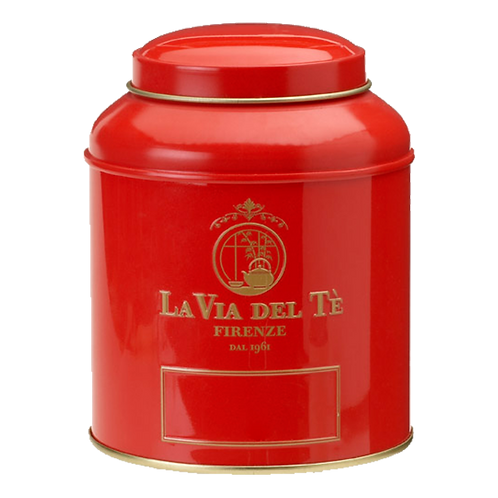 La Via del Tè, canister rood - 6stuks