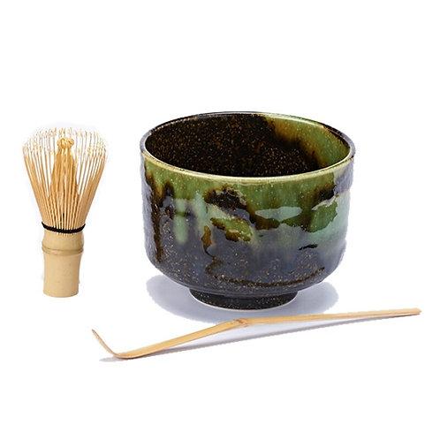 Matcha groene theeset - 1stuk