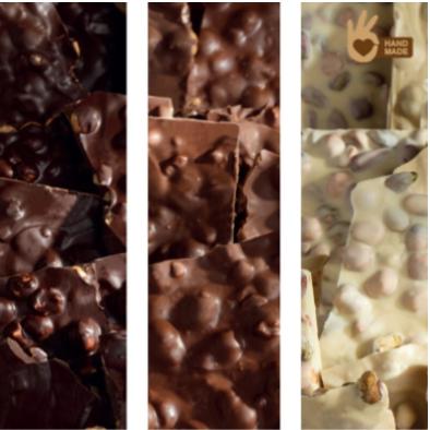 Venchi assortiment chocoladebrokken - 5kg