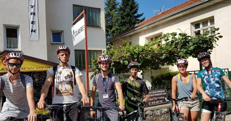 Jazda na rowerze w Ochrydzie