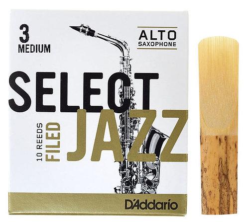 D'Addario Selected Jazz Filed alt