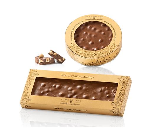 Gianduja chocolade in geschenkverpakking - div.hoev.