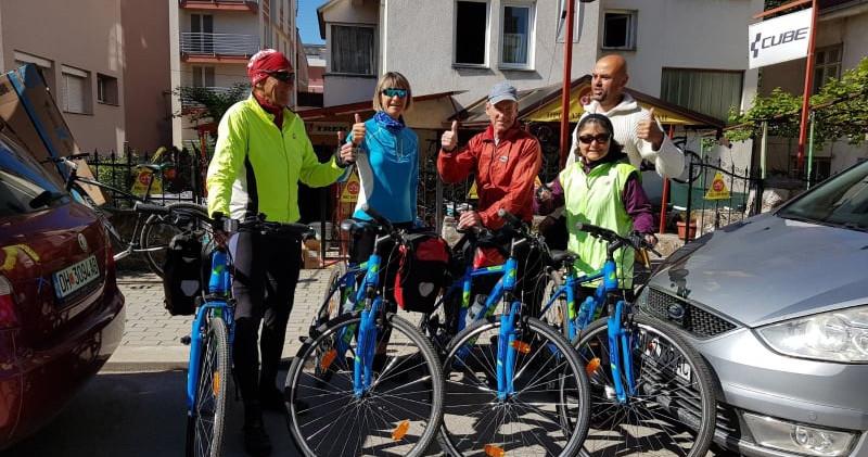 Radfahren in Ohrid