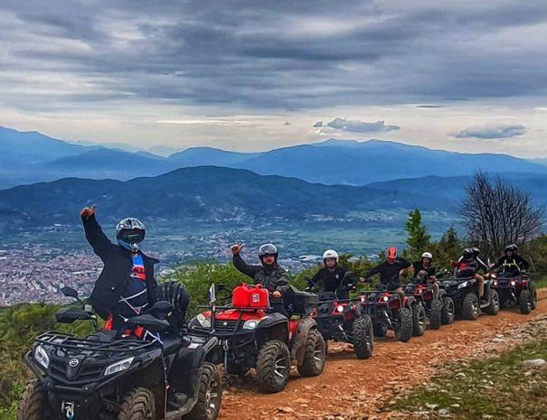 ATV adventure Ohrid