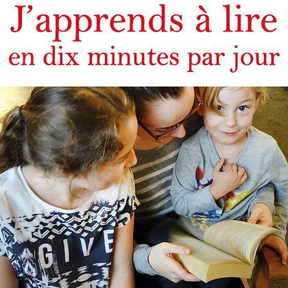 Ebook J'apprends à lire en 10 minutes par jour