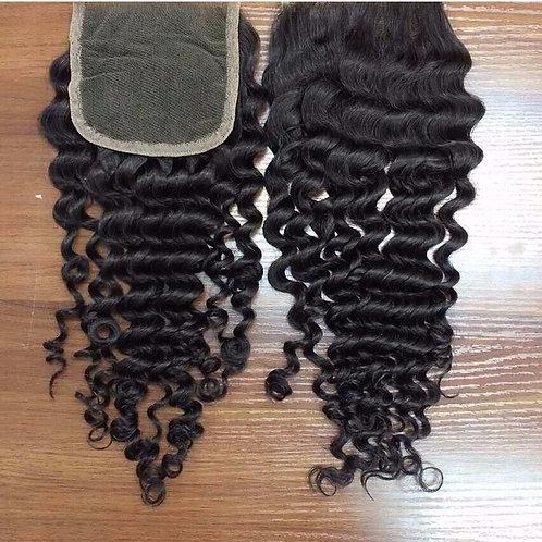 Brazilian Silk or Lace Closure