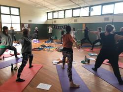 Facilitating restorative yoga