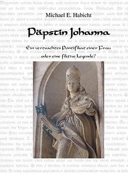 Buch cover: Statue der Päpstin? Eine Frau im Bischoffsgewand mit Tiara, Buch und den beiden Schlüsseln von St. Petrus