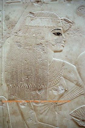 TT55 Ramose: Teilnehmerin des Totenmahls 18. Dynastie