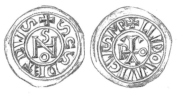 Coin of Popess Joan and emperor Louis II.jpg