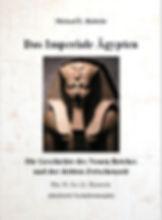 Book cover: Das Imperiale Ägypten. Hierogylphen und Statue Thumosis III