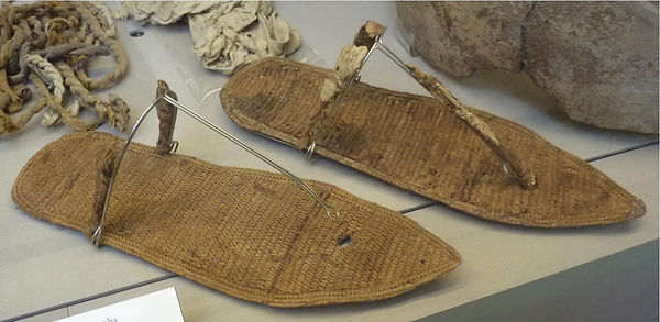 Nefertari, her sandals found in her tomb