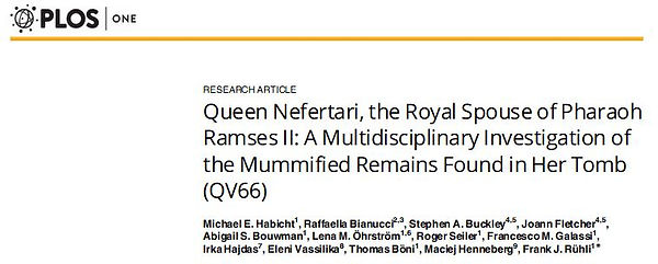 Queen Neferari Mummy Turin