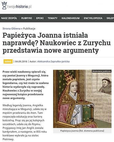 Twohistoria Papieżyca Joanna.JPG