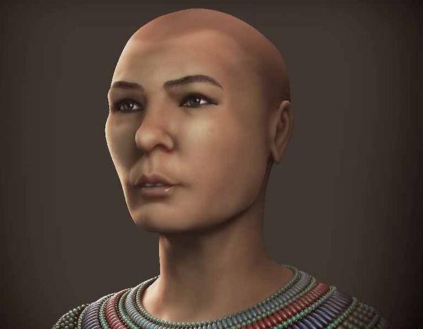 Cairo CG 61076 Baqt forensic face reconstruction Egyptian mummy