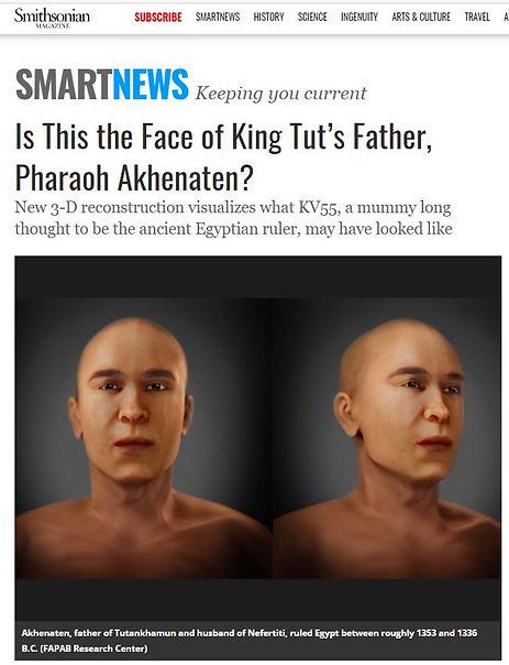 Akhenaton face reconstruction KV55Smithsonian Magazine.JPG