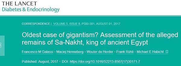 Lancet Sa-Nakht gigant Nephilim