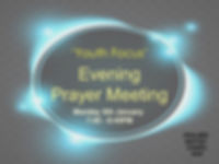 YOUTH FOCUS Evening Prayer Meeting 2020.
