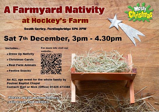 Messy Church Farmyard Nativity
