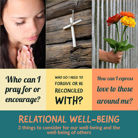 Relational Well-being Considerations