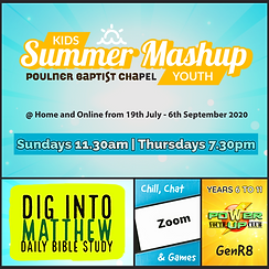 Summer Mashup Dig Into Matthew (Years 6-