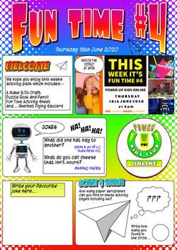 Fun Time #4 Magazine